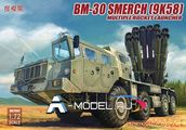БМ-30 СМЕРЧ 9K58 multiple rocket launcher