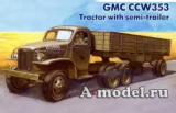 GMC CCW 353 Tractor with Semitrailer