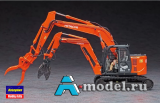 HITACHI double arm working