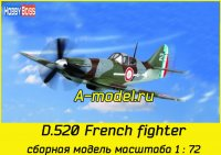 French D.520 Fighter