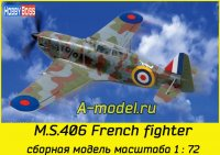 M.S.406 French fighter