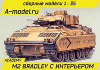 M2 Bradley with interrior